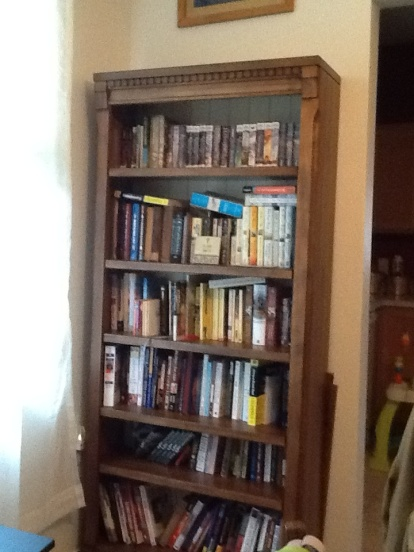Bookshelves dining room 1